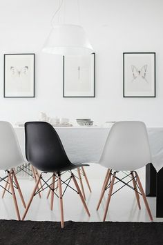Combined table and chairs for dining room furniture