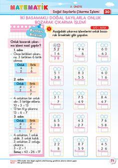 2. Sınıf Soru Bankası Matematik Süper Kitap Baca Online, Dyslexia Activities, Addition Facts, Math Humor, Baby Education, Worksheets For Kids, Vinyl Records, Periodic Table, Preschool