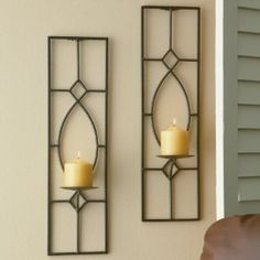 candle sconce option