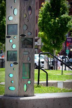 Art and history piece downtown Reno  - Reno, NV - Photo taken by Natalie Lumbo #BiggestLittleCity