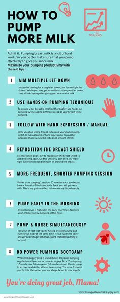 Pumping mamas, maximize your pumping productivity with these 8 pumping tips.: