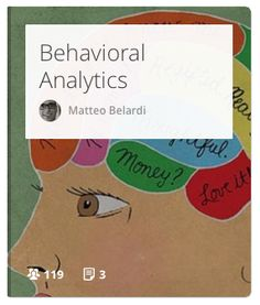 Behavioral Analytics is a subset of business analytics that focuses on how and why users behave. #UX #psychology