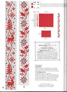Cross Stitch Patterns, Christmas, Borders