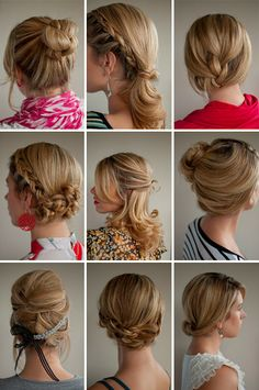 So many cute hairstyles to try :)