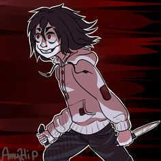 Just Girly Things - When he chases after you! (lol) Just a random joke that came to me. More Creepypasta Fanart?- amyhip.deviantart.com/gallery/… Enjoy~