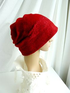 Felt Hat Clothing gift Nuno felted wool beanie Hat by