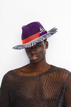 #hat #male #millinery #neonkids #ivaksenevich