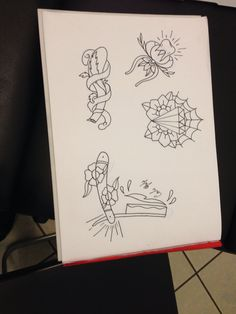Tattoo flash # traditional tattoo # old schooll tattoo idea Traditional Tattoo Flash, Neo Traditional, Cute Tattoos, Sketch, Bullet Journal, Painting, Art, Sketch Drawing, Art Background