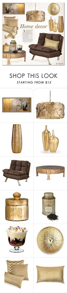 """""""Home decor"""" by bogira ❤ liked on Polyvore featuring interior, interiors, interior design, home, home decor, interior decorating, DwellStudio, Simplydesignz, Venetian Worldwide and H&M"""