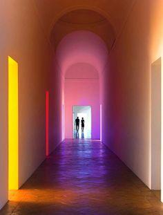 Villa Panza, Flavin installation