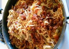 Sauceless Pasta Recipe -  Very Tasty Food. Let's make it!