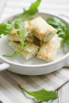 Sigari con rucola (con pasta brick homemade) | MIEL & RICOTTA