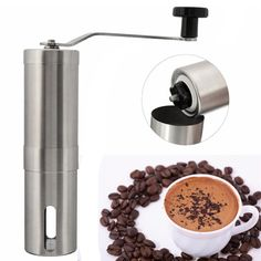 2016 Coffee Bean Grinder Stainless Steel Hand Manual Handmade Grinder Mill Kitchen Grinding Tool #>=#>=#>=#>=#> Click on the pin to check out discount price, color, size, shipping, etc. Save and like it!
