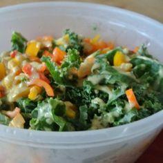 Confetti Dijon Kale Salad