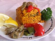 Arroz de verduras de Alicante