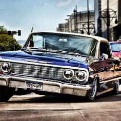 Impala lowrider on airbags or hydraulics