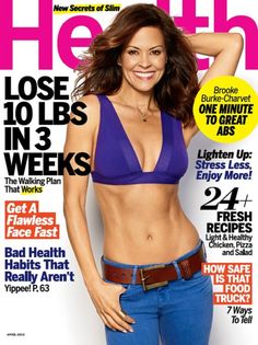 Brooke Burke-Charvet is Health's April 2013 Cover girl