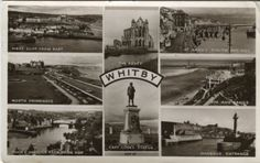 Chadwick Studio Productions Postcard - Whitby (Multiview) c1952