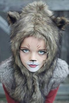 Image result for wolf face paint simple