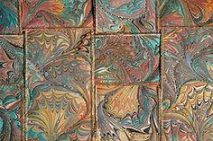 The Art of Marbling :: Marbled Fabric Art by Dean and Linda Moran :: Tucson AZ