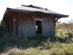 Old railroad depot.