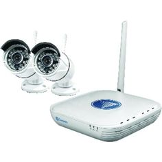 SWANN SWNVK-460KH1-US 720p Wi-Fi(R) Security Kit Micro Monitoring System