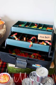 cute food ideas in this Camping Party