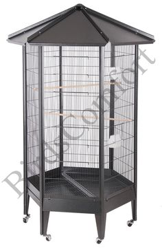 HQ Large Parrot Aviary Cag. Nice shape and ideal But needs different doors and stronger wire