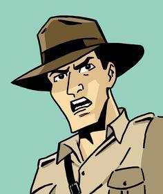Indiana Jones Graphic