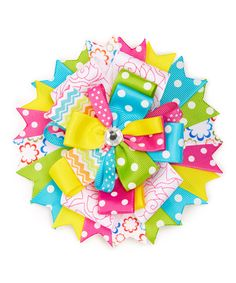 Take a look at this Simply2Cute Spring Blossom Boutique Hair Bow today!