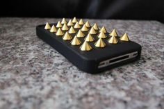 Seriously Studded iPhone Covers -  The Felony Case Gives Your Phone a Sharp Look #iphone #iphonecases #felonycase
