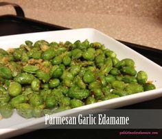Parmesan Garlic Edamame Recipe