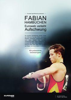 Die Euroweb Sportförderung hat die Website von Turn-Star Fabian Hambüchen gestaltet.