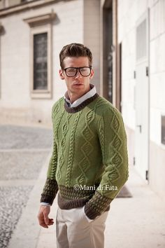 Maglione verde  http://www.manidifata.it/alpaca-lana-c1lalpa1361-html.html