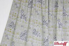 Gartenspass Grey Mottled Lillestoff Organic Cotton Stretchjersey Fabric by Susalabim von BloorWestFabrics auf Etsy