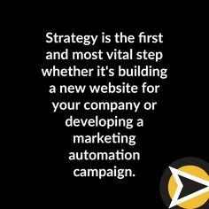 Don't just build websites and automation. Build strategies.  #websitedesign #digitalmarketing #marketingstrategy #pittsburgh Marketing Automation, Inbound Marketing, Internet Marketing, Digital Marketing, Pittsburgh, Instagram, Online Marketing