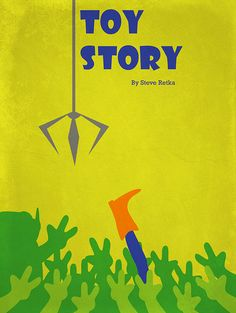 Toy Story - Minimalist Movie Poster