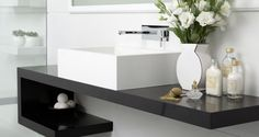 Kunststein Waschtische haben sich modernen Bedürfnissen verschrieben - dem Bedürfnis nach hygienischer Sauberkeit.