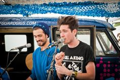 hellobabysimmons:  foreverbastille:  This still remains to be one of my favourite pictures of Dan ever, I'm not quite sure why but just look at his f ac e  KYLE TOO lookit that lil smilin cutie