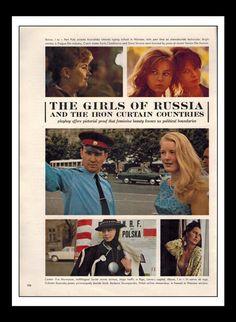 Mature Playboy mars 1964 : Les filles de Russie par ThePlayboyPages