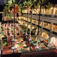 I had a Singapore Sling in the Raffles Hotel in Singapore where the drink originated.