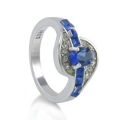 Item Description:    Metal: Titanium  Main Stone: Blue Sapphire(Lab created)  Ring Weight: 5g  Ring Size(Approx): US 8  Main Stone Size(Approx):9x7mm  Package Included: Ring without Box  100% new and high quality  Best Price,High Quality,Fast Shipping      Item location:Greece  Ships Worldwide via International Mail Service.   Shop this product here: http://spreesy.com/elmanjewelry/540   Shop all of our products at http://spreesy.com/elmanjewelry      Pinterest selling powered by…