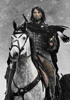 Mads Mikkelsen as Tristan in the movie King Arthur.