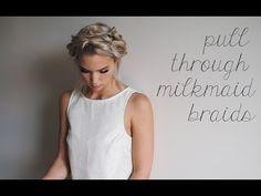 Pull Through Milkmaid braids | Kokay | A DIY Style and Beauty Blog