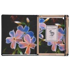 Fantasy floral iPad DoDo case iPad Folio Cases