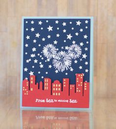 Welcome to Taylored Expressions, a paper crafting store that sells stamps, dies, stencils and more to help you share joy through your handmade cards! Military Cards, July Crafts, Patriotic Crafts, Theme Color, Cricut Cards, Craft Videos, Homemade Cards, Independence Day, Fourth Of July