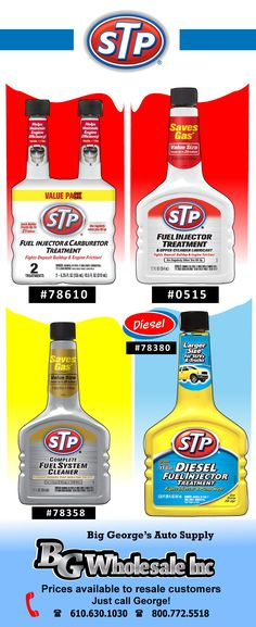 STP Fuel Injector Cleaners and Treatments Brake Fluid
