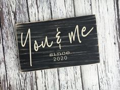 handmade wood signs & home decor by SignsbyJen on Etsy Established Family Signs, Wood Signs Home Decor, Christmas Signs, Sell On Etsy, Wedding Signs, You And I, Decor Styles, Hand Painted, Lettering
