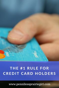 Did you know the average Canadian has 2 credit cards, yet most do not know how to use them correctly? Check out the #1 tip all credit card owners should know!