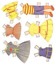 Bonecas de Papel: Big & Little Sister